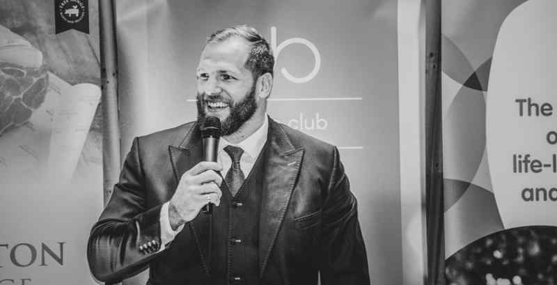 James Haskell rugby union speaker events photo west mids photographer jon thorne photography UK