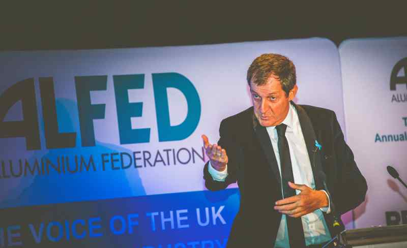 Event Photography west Midlands Jon Thorne photographs Alastair Campbell