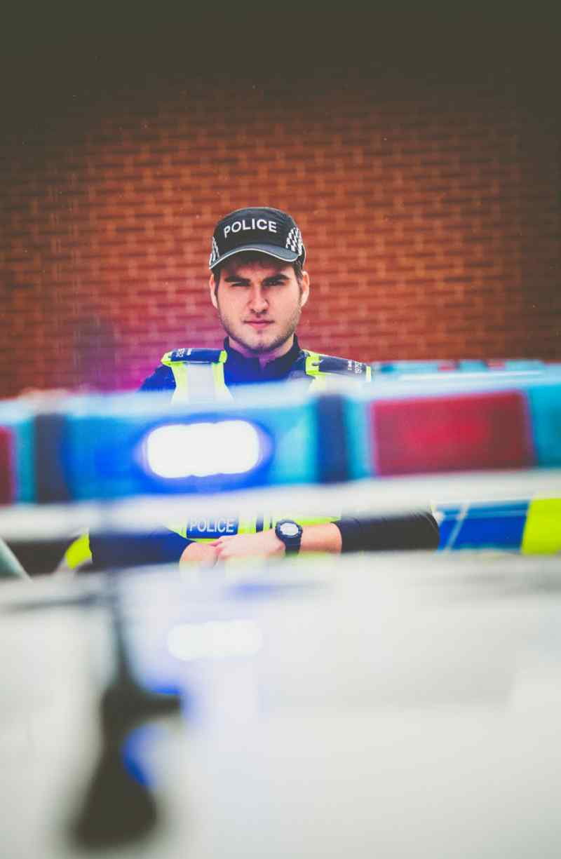 editorial photography press photography derbyshire police