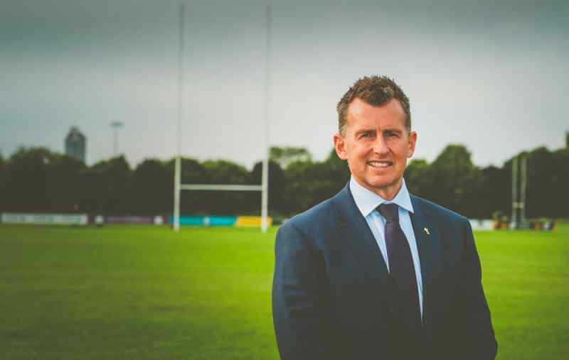 editorial photography press photography portrait Nigel Owens Rugby refereee