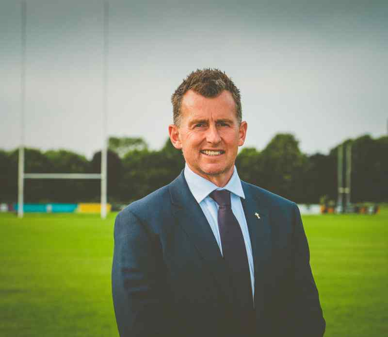 nigel owens portrait photography   Jon Thorne photography