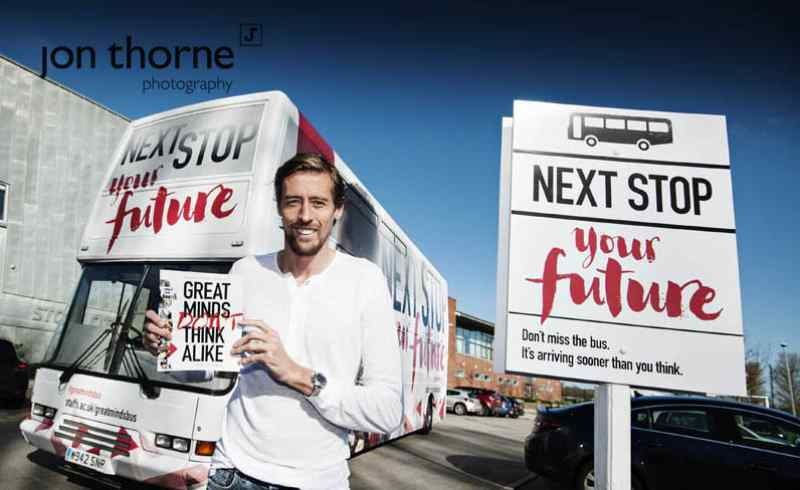 Jon Thorne Photography photographs Peter Crouch http://www.thornephotography.com